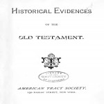 Historical Evidence of the Old Testament