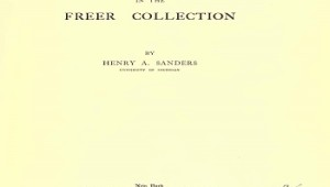The New Testament Manuscripts In The Freer Collection 1918 PDF