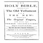 King James Bible - Oxford 1778 PDF