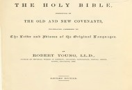 Robert Young's Literal Translation Of The Bible - Revised Edition 1898 PDF