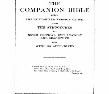 The Companion Bible 1901 PDF
