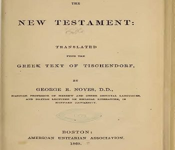 Tischendorf English Translation of the New Testament 1869 PDF