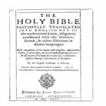 Douay Rheims Old Testament 1625 PDF