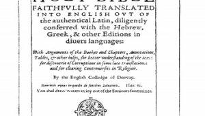 Douay Rheims Old Testament 1625 PDF