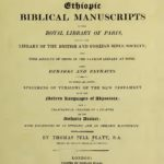 Catalogue of Ethiopic Bible Manuscripts PDF