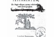 Elzevir Testamentum novum graece ex reguus aliis 1624